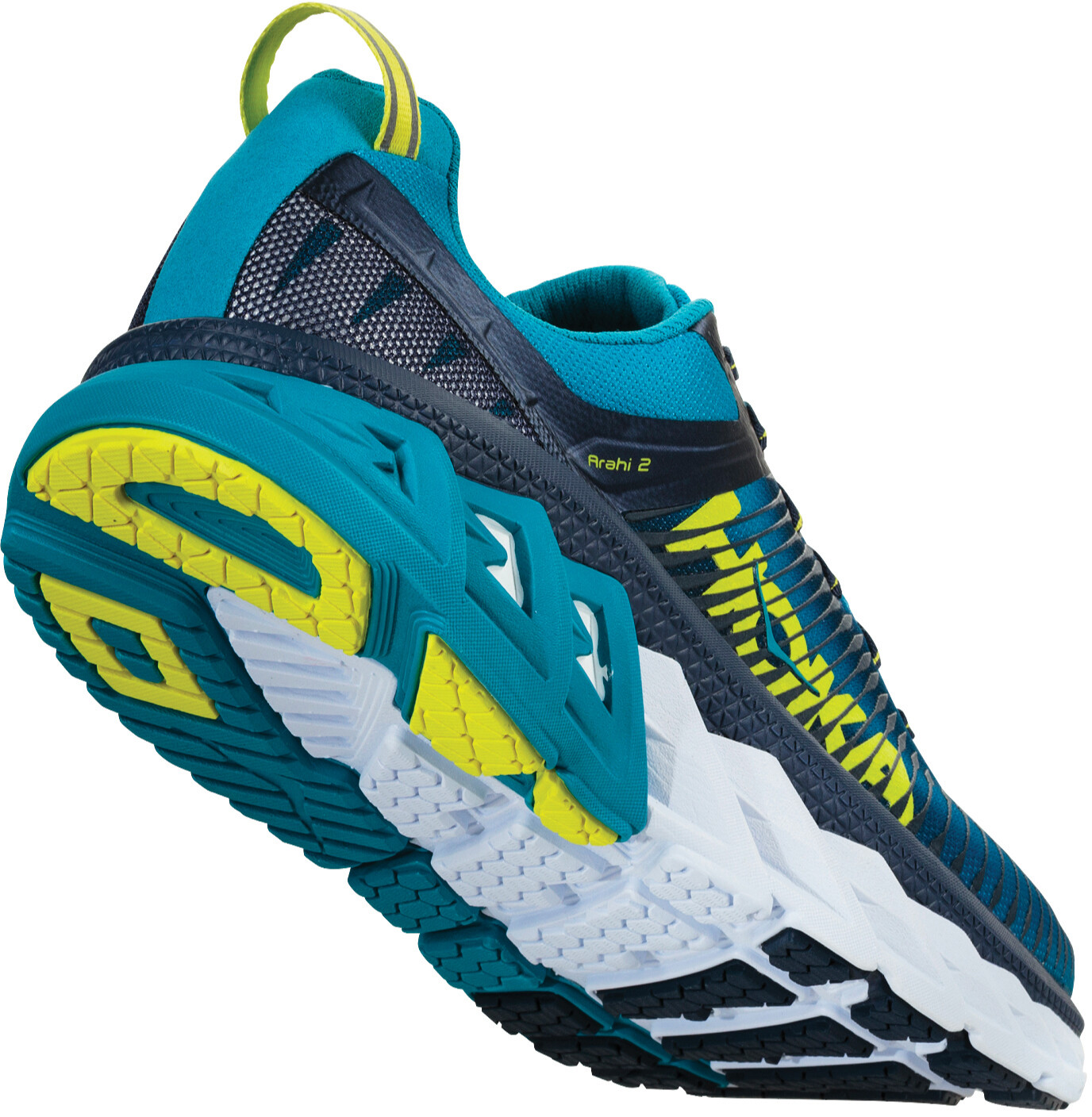 Hoka One One Arahi 2 Running Shoes Men blue at Bikester.co.uk fbb0fcd121a